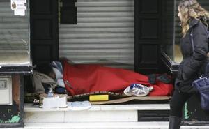 Salamanca organiza el primer recuento de personas sin hogar
