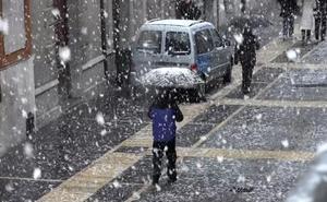 Aemet anuncia nevadas en León capital con «el cien por cien» de probabilidad el próximo sábado