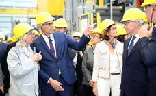 Pedro Sánchez visita la factoría de Renault en Valladolid
