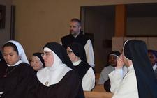 Los religiosos de clausura de Palencia debaten sobre su papel en la Iglesia