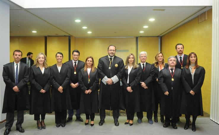 Toma de posesión de los seis nuevos miembros de la Junta de Gobierno del Colegio de Abogados de Valladolid y de los 32 nuevos letrados colegiados