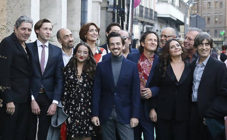 Alfombra verde de la Fiesta del Cine Español de la Seminci