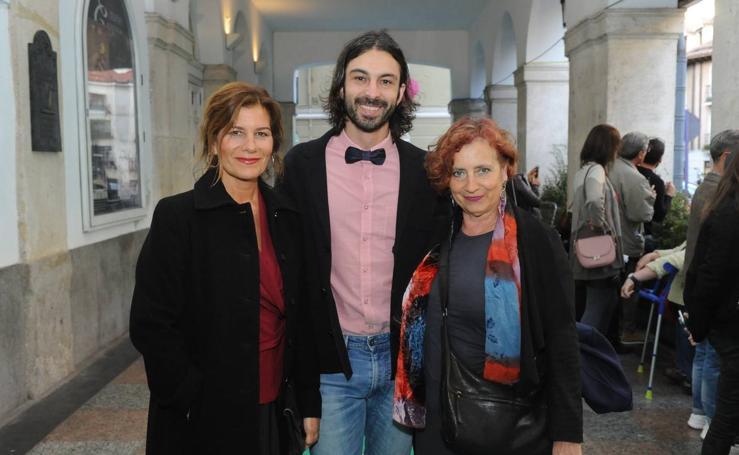 Público asistente a la Gala del Cine Español de la Seminci