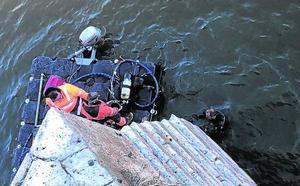 Arranca la inspección subacuática de los cimientos del puente medieval de Tordesillas