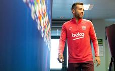 Jordi Alba: «Con Leo en el campo me siento más fuerte»