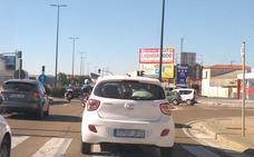 Una joven de 26 años, herida en una aparatosa colisión múltiple en Valladolid