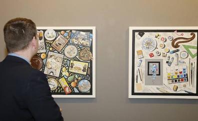 Artistas de Palencia reinterpretan en la Fundación Caneja el bodegón