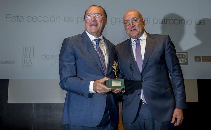 La Seminci entrega la Espiga de Honor al bodeguero Carlos Moro