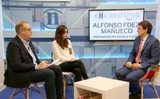 Mañueco: «Una de las personas que está en todos los mentideros políticos para la alcaldía de Valladolid es Pilar del Olmo»