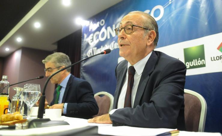 Nicolás Redondo Terreros, en el Foro Económico de El Norte de Castilla