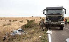 Fallece una niña de cinco años en un accidente de tráfico en la carretera de Matilla