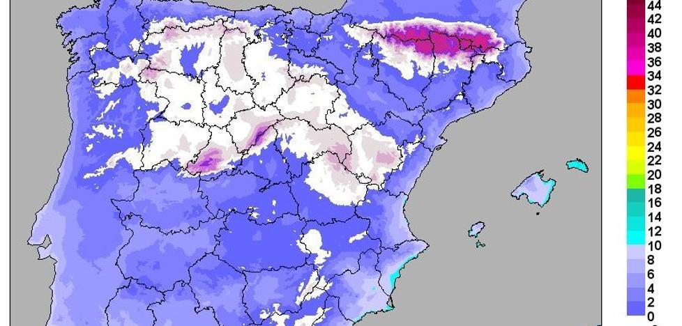 Las temperaturas se desplomarán hasta doce grados este fin de semana en Valladolid