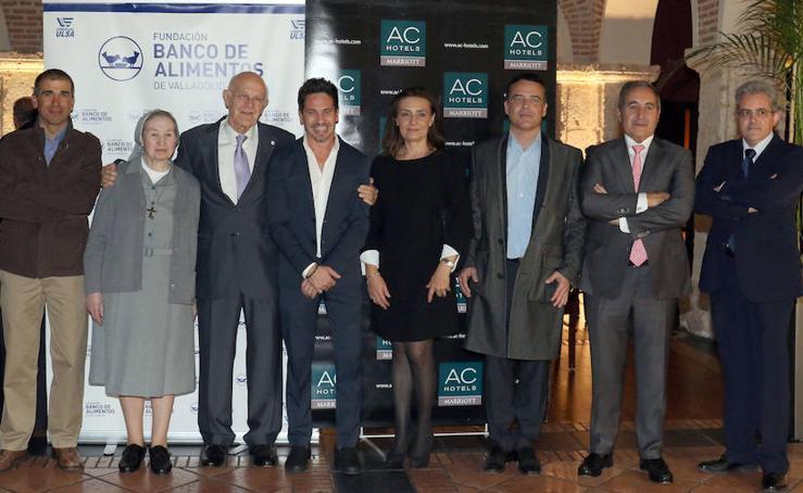 El Banco de Alimentos de Valladolid entrega sus Premios Plato Solidario 2018