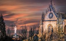 Una imagen con el Cristo y la Catedral protagonizará los calendarios de Palencia