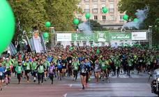 Una Marcha contra el Cáncer de récord en Valladolid