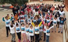 Kilómetros de solidaridad en Traspinedo
