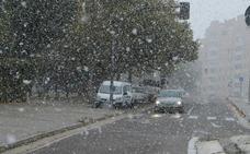 Frío intenso y aguanieve para la mañana del domingo en Valladolid