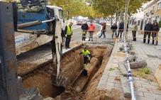 Más de 20.000 vecinos de Parquesol recuperan el suministro de agua tras un reventón
