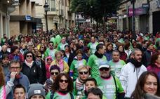La AECC reúne a más de 18.000 vecinos en una caminata de récord contra el cáncer