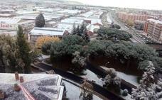 Llega la primera nevada del otoño a Palencia
