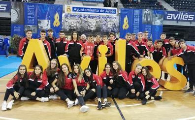 Dos medallas para el Judo Club Doryoku en el torneo de Avilés