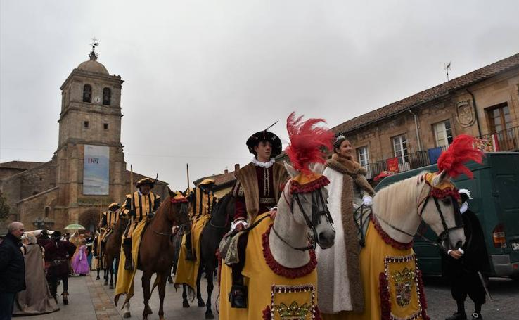 Visita de CarlosV a Santa María la Real