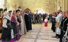 Santa María recibe a Carlos