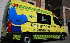 Herido el conductor de un camión al volcar en Villarramiel