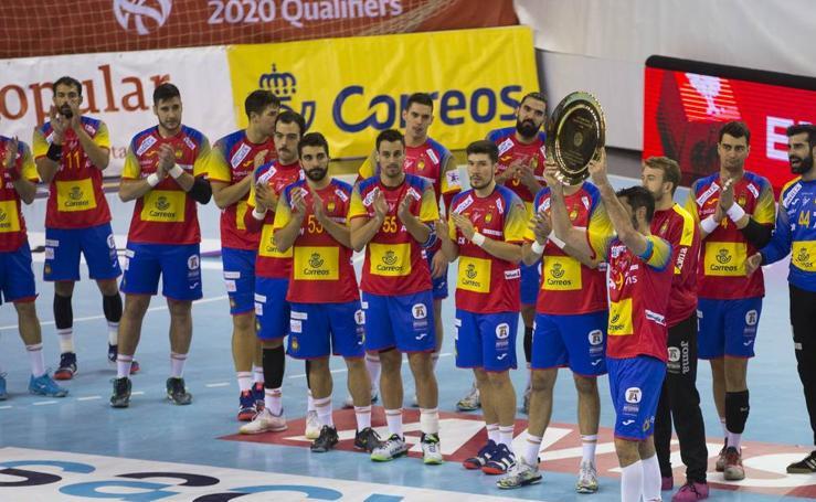 La selección española de balonmano arrolla a Noruega