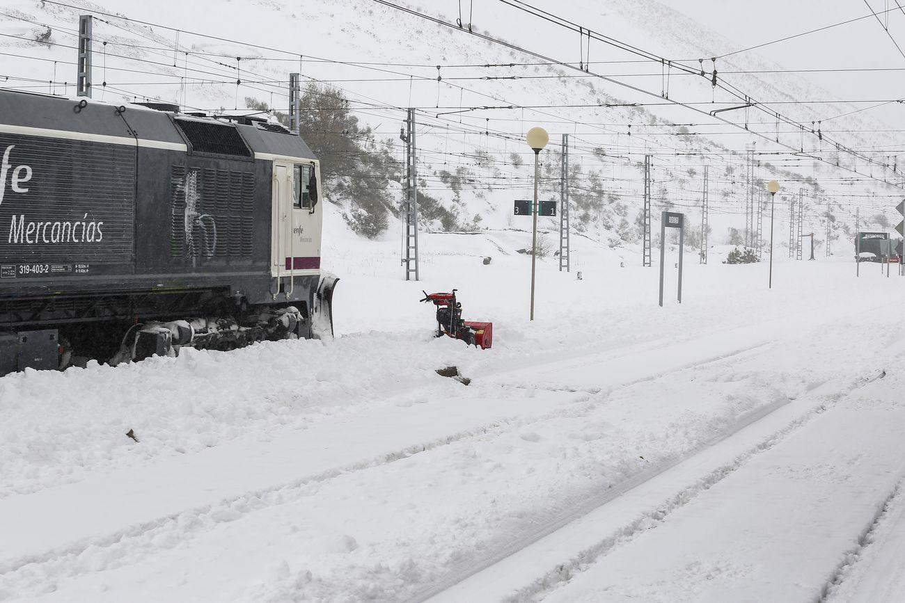 Nieve en León