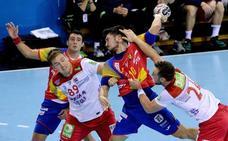 La selección masculina de balonmano disputará tres amistosos en enero en Palencia