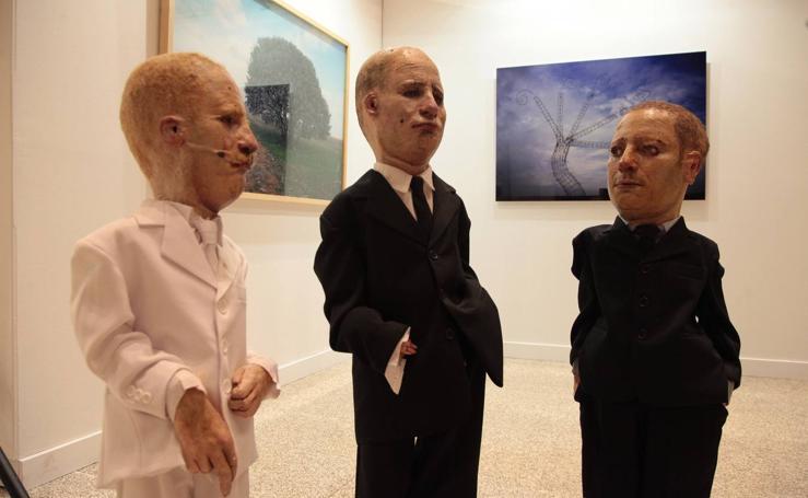 La sede de las Cortes de Castilla y León acoge la exposición 'El presente será memoria'