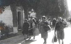 Imágenes históricas del Día de Todos los Santos en Valladolid