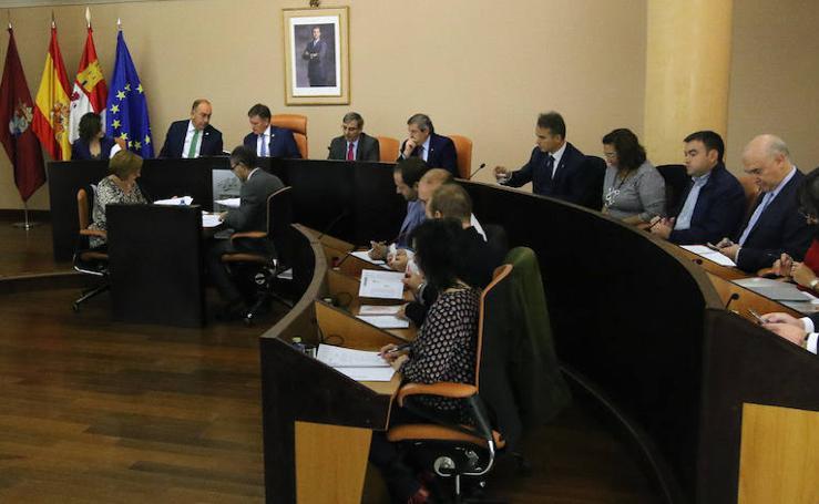 Pleno de presupuestos en la Diputación de Segovia