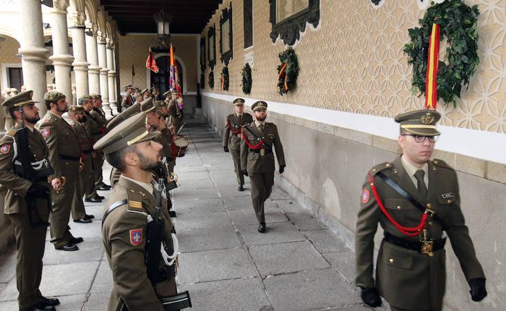 Homenaje al brigada segoviano asesinado por ETA