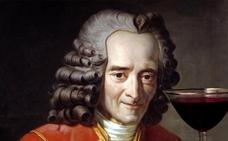 El amor de Voltaire por los vinos