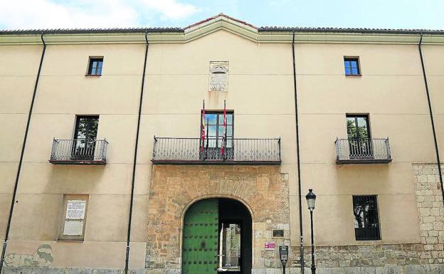 Fachada del Palacio de los Vivero en la actualidad, sede del Archivo Provincial. /El Norte