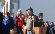 Una ruta para recoger setas y castañas abre la Fiesta del Otoño en Los Santos