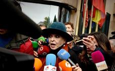 Aplazado el juicio contra Lucía Bosé, acusada de vender un dibujo que Picasso regaló a una empleada