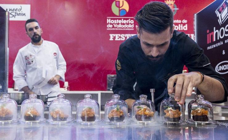 Arranca en Valladolid el Concurso Nacional y el Campeonato Mundial de Pinchos y Tapas