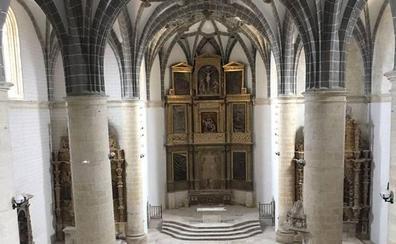 La iglesia de San Martín de Tours en Mota del Marqués reabre 30 años después de su cierre