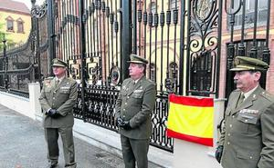 La Academia recupera la verja centenaria del Taller de Precisión de Artillería de Madrid