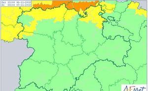 Burgos, León, Palencia y Zamora, en aviso por vientos de entre 70 y 90 km/h