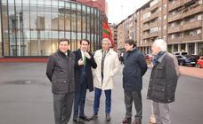 Inauguración del Ayuntamiento de Guardo