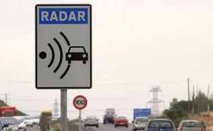Tráfico reducirá a primeros de año a 90 km/h la velocidad en las carreteras convencionales