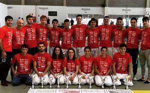 Excelente botín de medallas para el Judo Club Doryoku en el autonómico de judo en Valladolid