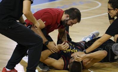 Pere Sureda estará de baja en el CB Tormes hasta enero tras la taquicardia que sufrió en pleno partido