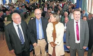 Marcos vincula el futuro del mundo rural a la modernización del regadío