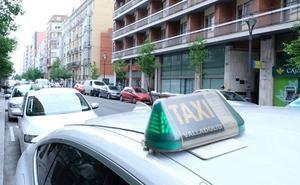 Muere por causas naturales cuando viajaba en un taxi en Valladolid