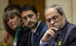 El Govern en pleno presiona a los jueces del Tribunal Superior de Cataluña